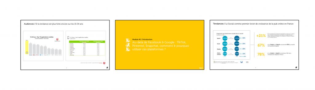 publicité sur TikTok
