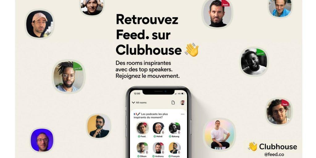 ClubHouse Marque stratégie influenceurs